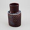 Stig lindberg, a stoneware vase, gustavsberg studio.