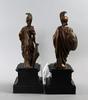 Skulpturer, ett par. antikiserande, 1900-tal.