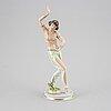 A gustav oppel porcelaine figurine, rosenthal 1930s.