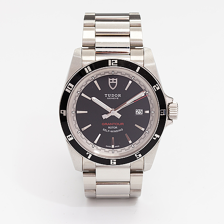 Tudor, grandtour, wristwatch, 42 mm.