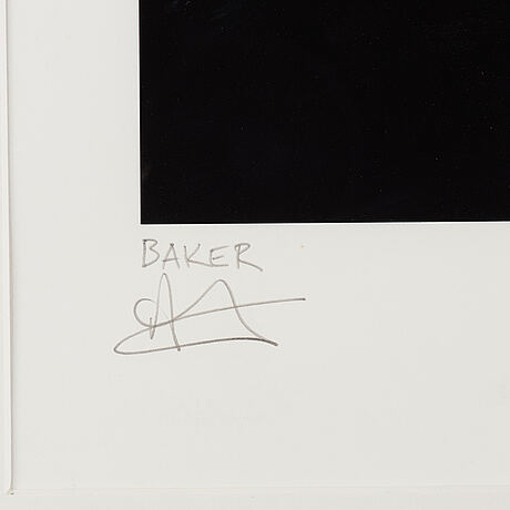 Charming baker, digital print signed and numbered 5/85.