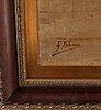 Gabriel palencia y ubanell, oil on canvas, signed.