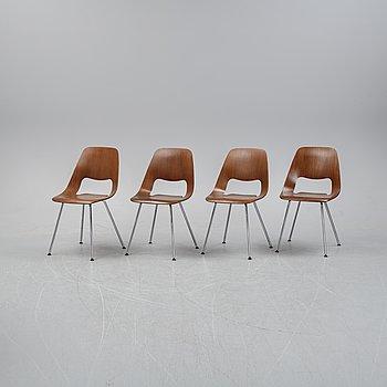 """ALFREDO HÄBERLI, stolar, 4 st, """"Jill"""", Vitra, 2012."""