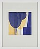 Astrid sylwan, etching in colours, signed 42/65.