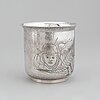 Olle ohlsson, a sterling silver cup. stockholm 1992.