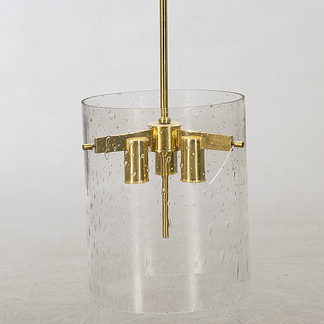 Hans-agne jakobsson, ceiling lamp second half of 20th century.