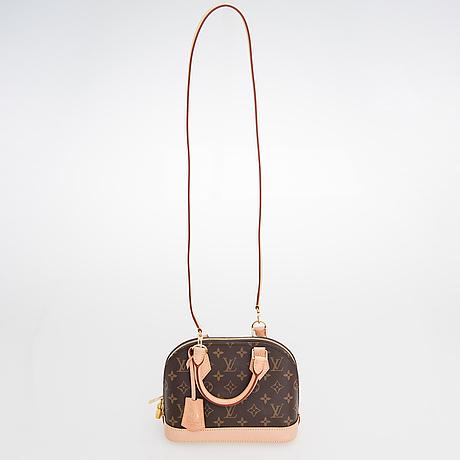 "Louis vuitton, ""alma bb"", väska."