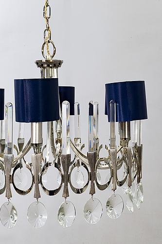 Gaetano sciolari, ceiling lamp italy.