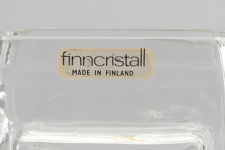 Helena tynell, 4 vaser riihimäen lasi oy finland.