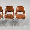 Alfredo häberli, four 'jill' chairs, vitra, 2012.