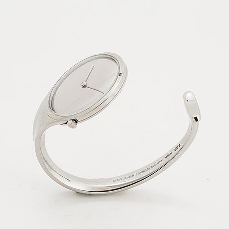Vivianna torun bülow-hübe, 'vivianne' wristwatch, georg jensen / chopard, 33 mm.