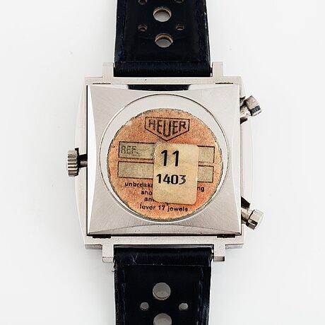 """Heuer, monaco, chronograph, """"steve mcqueen""""."""