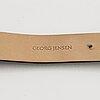 Georg jensen, design torun bülow hübe, wristwatch, 33 mm.