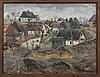 Albert krüger, oil on canvas, signed,