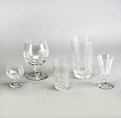 """Servis 63 dlr """"mona"""" 1900-talets mitt kosta glas."""