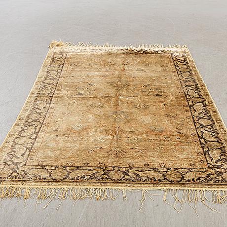 A semiantique/antique west anatolia silk rug ca 180 x 120 cm.