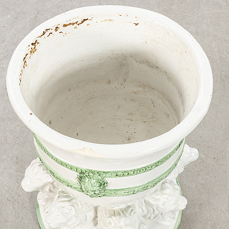 Ytterfoder / kruka, keramik, sydeuropa, 1900-tal.