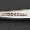 "Bestickservis, 44 delar, silver. ""chippendale"", bl.a. gab samt scandia."
