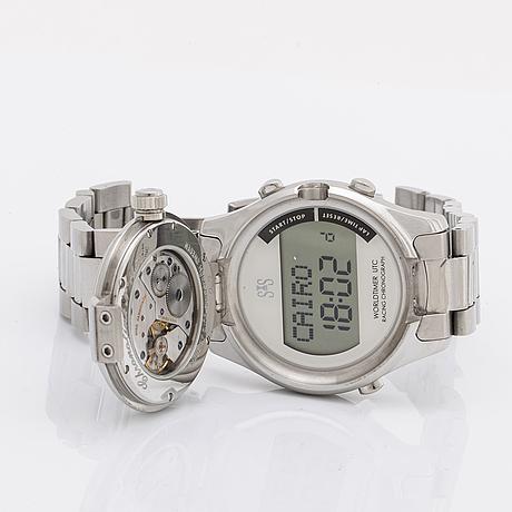 SjÖÖ sandstrÖm, chronolink, wristwatch, 40 mm.