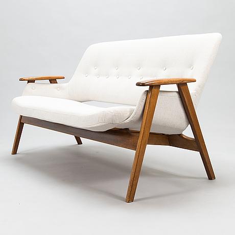 Olof ottelin, a 1960's, 'mister' sofa for oy stockmann ab, keravan puusepäntehdas.