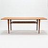 Peter hvidt & orla mølgaard nielsen, a mid-20th century 'fd 516' coffee table for france & son denmark.