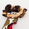 Louis vuitton, 'la boum' sunglasses and a chouchou scrunchie.