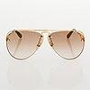 Louis vuitton, 'grease' sunglasses and a chouchou scrunchie.