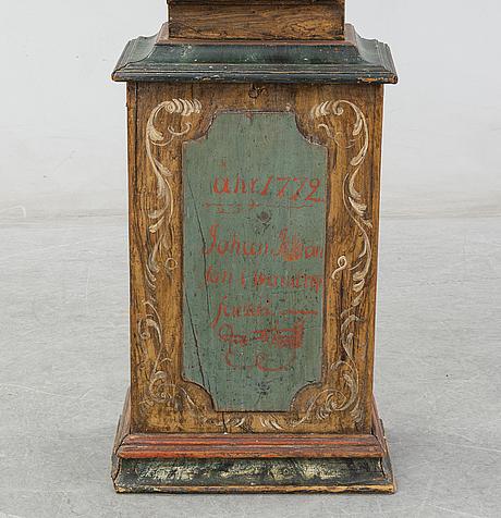 Golvur, västerbotten, daterat 1772.