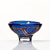 "Sven palmqvist, a ""ravenna"" glass bowl, orrefors 1973."