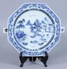 Värmefat, porslin, kina, 1700-tal.