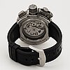 U-boat, u-51, chrono,  wristwatch, chronograph, 52 mm.