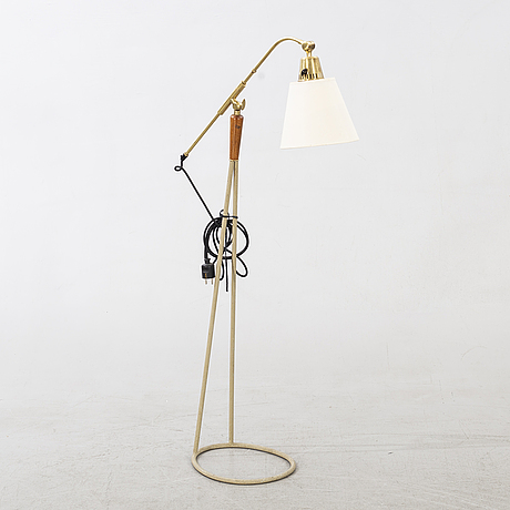 A floor lamp form falkenbergs belysning sweden mid 20th century.