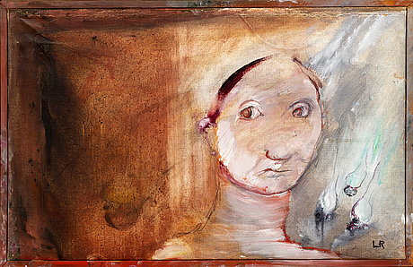 Lillemor rudolf-hall, oil on canvas, signed.