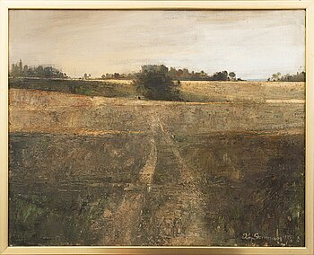 Kaj Stenman, oil on canvas, signed and dated 1972.