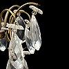 Ljuskrona, rokokostil, 1900-talets mitt.