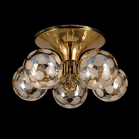 A 1970's ceiling lamp kp 85 for hyval, finland.
