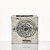 Rut bryk, a white bisquit sculpture / vase, arabia, finland 1950-60's.