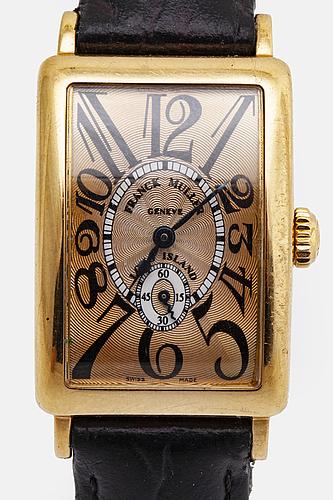 Franck muller, geneve, long island, armbandsur, 22 x 32 mm.