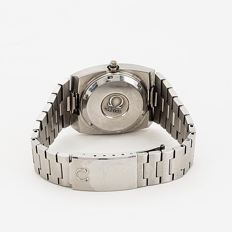 Omega, genève, megaquartz (32 khz), armbandsur, 30 mm.