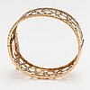 "Liisa vitali, a 14k gold bracelet ""pitsi"". westerback, helsinki 1972."