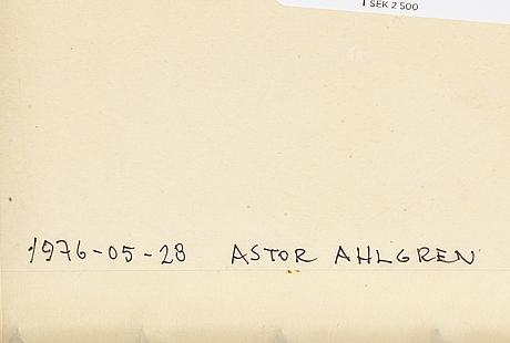 Arne jones, collage/multiple, 1976, signed 3/6.