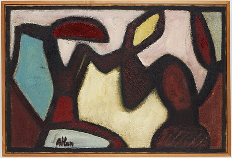 Jean michel atlan, untitled.