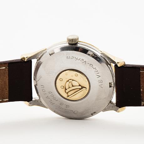"Omega, constellation, ""pie-pan"", chronometer, wristwatch, 34 mm."