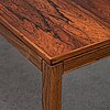 A 1960's rosewood veneered coffee table.