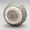 An early 20th-century silver bowl from sri lanka/ india.