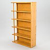 Wall shelf, birch, custom work from the 1940s / 50s.