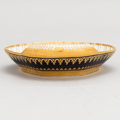 A 19th century porcelain darte frères bowl, paris france.