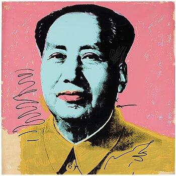 """391. Andy Warhol, """"Mao""""."""