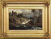 Gustaf rydberg, a signed and dated oil on canvas.