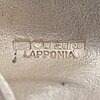 """A sterling silver brooch """"last snow"""". lapponia 1993."""